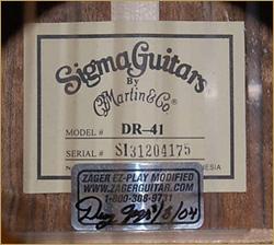 Гитара Sigma