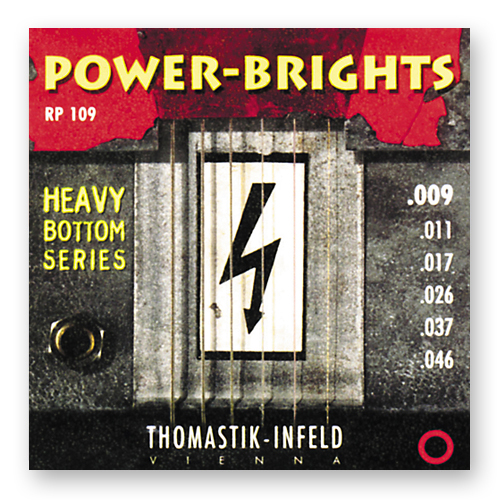 Струны для электрогитары Thomastik Power-Brights RP109 Light (6 шт)